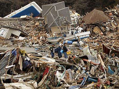 Japan vor dem Super-GAU © 2011 AP. Photographer: Shuji Kajiyama/AP/dapd